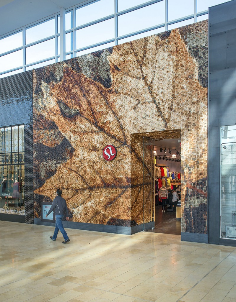 Interior Wood Design Award Winner - Lululemon Yorkdale, Toronto, ON; Design Team: Lululemon Athletica, Brothers Dressler, Quadrangle Architects (CNW Group/Ontario Wood WORKS!)