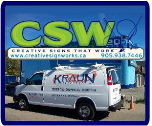 Creative sign works 300x250