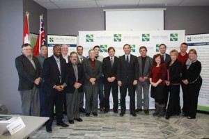 Business Roundtable hosted by the Greater Niagara Chamber of Commerce with Mr. Tim Hudak, Leader of the Official Opposition and the Progressive Conservative Party of Ontario, Mr. Garfield Dunlop Critic for Training and Apprenticeship and Mr. Bart Maves, Regional Councillor, as well as many industry stakeholders throughout Niagara.