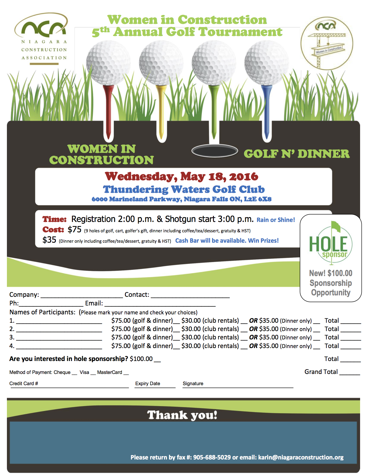 wic golf flyer